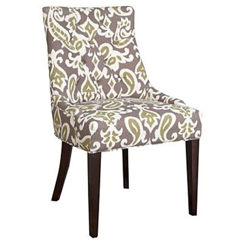 dining chair green paisley at big lots kitchens