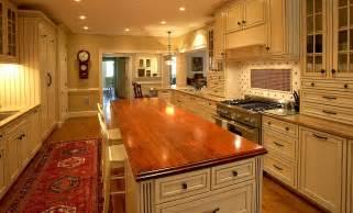 wood island kitchen wood countertops butcher block countertop bar top images
