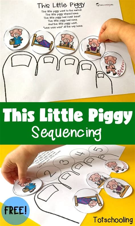 this piggy sequencing kindergarten nursery and 786 | e41e3e7d8efd5b450fbfa6ca0367f0f2