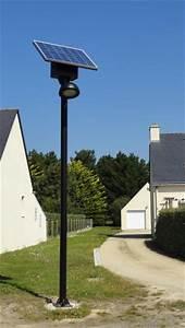 Luminaire Exterieur Solaire : lampadaire solaire 16w artlux ref arl gl004 luminaire d 39 ext rieur solaire appareil d 39 ext rieur ~ Teatrodelosmanantiales.com Idées de Décoration