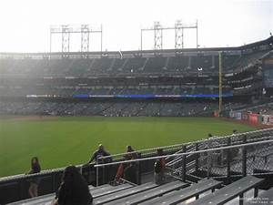 At T Park Seating Chart Rows At T Park Section 144 San Francisco Giants