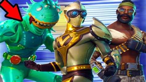 Moisty Merman, Venturion, Toxic Trooper, And More Mutant Skins Leaked