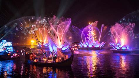 disney world light show rivers of light to debut at disney 39 s animal kingdom after