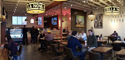 Stella nova partners john kennedy and kelli lay hope their new coffee shop will be the shining star of coffee shops in norman. Stella Nova Coffee Shop Opens in Snider Plaza   People Newspapers