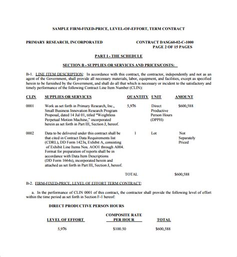 sle rfp template price template gsa archives satpuralawcollege org