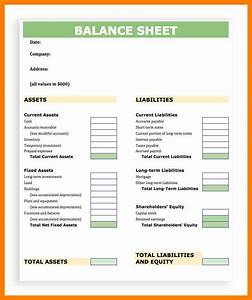 7+ balance sheet templet time table chart