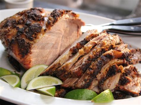 pork roast slow roasted spiced pork recipe ina garten food network