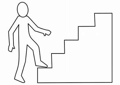 Escalier Colorear Escalera Trap Dibujo Kleurplaat Scale
