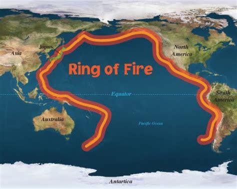 volcanoes   ring  fire