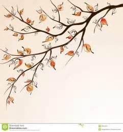 Fall Tree Branch Clip Art