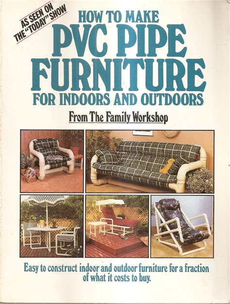 pvc pipe furniture  indoors  outdoors