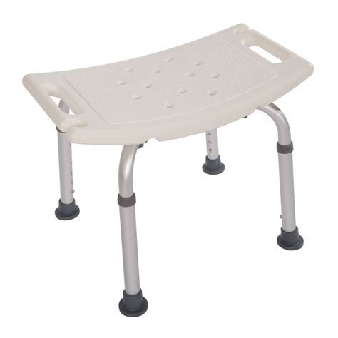 Elderly Shower Chair by Aluminium Alloy Elderly Bath Chair Without Back Of A Chair