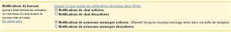 gmail bureau comment activer la notification des mails pour gmail les
