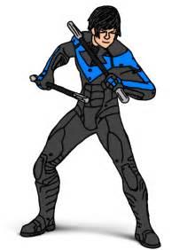Nightwing Drawings