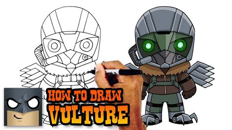 draw vulture spiderman homecoming youtube
