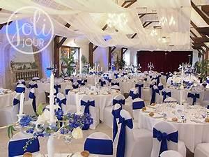Deco Mariage Bleu Marine : d coration mariage bleu roi mariage toulouse ~ Teatrodelosmanantiales.com Idées de Décoration