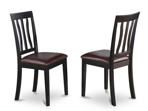 Kitchen Chair Upholstery by Set Of 2 Antique Dinette Kitchen Dining Chairs With
