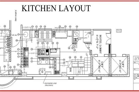 restaurant kitchen design layout sf homes restaurant