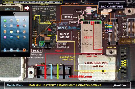 ipad mini battery connector terminal jumper ways