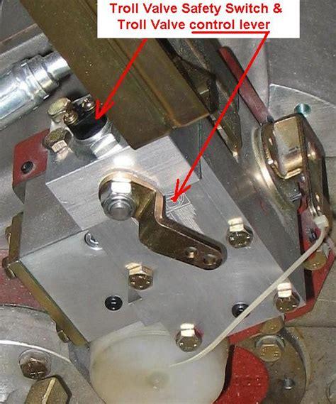 marine transmission trolling valve seaboard