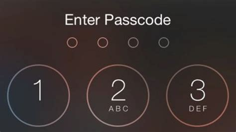 iphone password how to lock your iphone with any password your mobile