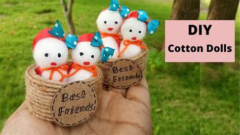 cotton doll easy doll cotton handmade diy