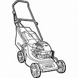 Lawn Mower Pages Turn Zero Coloring Sketch Template sketch template
