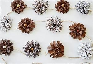 Que Faire Avec Des Pommes De Pin Pour Noel : 1001 id es cr atives que fabriquer avec des pommes de pin ~ Voncanada.com Idées de Décoration