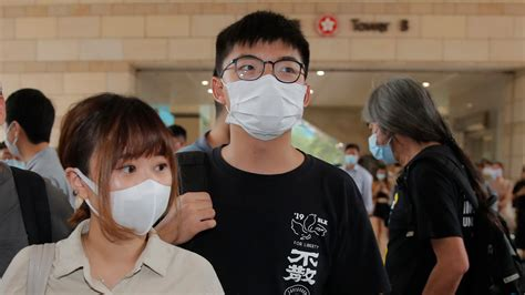 Hong Kong activist Wong arrested over unauthorized ...