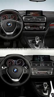 BMW 1 series facelift vs 1 series interior old vs new