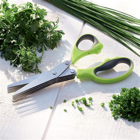 mathon cuisine ciseaux à herbes fraîches mathon ciseaux et roulettes