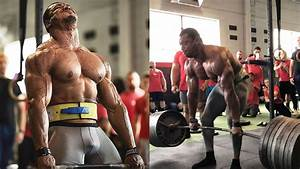 Watch  Larry Wheels Bleeds While Deadlifting 765lbs Insane Number Of Times   U2013 Fitness Volt