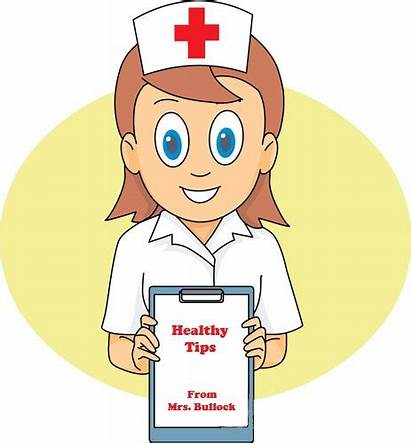 Wellness Tips Health Nurse Clipart Charting Committee