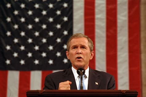 President George W. Bush Address To The Nation And