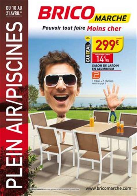 bricomarche table de jardin calam 233 o plein air chez bricomarch 233