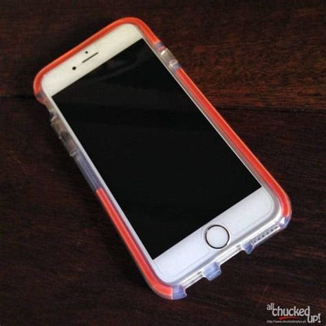 check for on iphone tech21 classic check for iphone 6 all chucked up