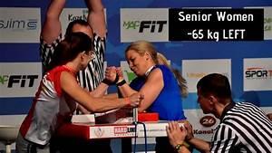 World Arm Wrestling Championship 2018  Senior Women -65kg Left Hand Qualification