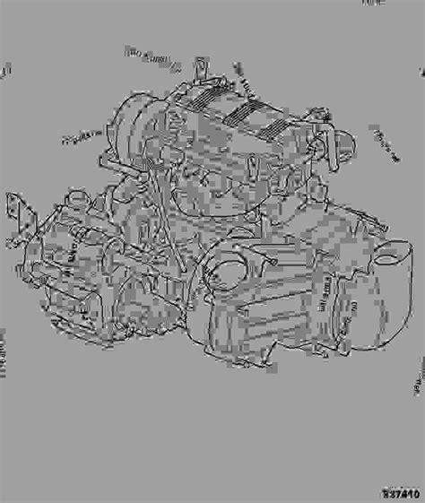 engine gearbox assembly groundhog jcb groundhog