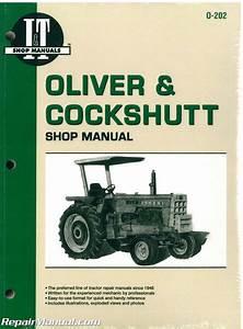 Oliver  U0026 Cockshutt G    T Series Farm Tractor Repair Manual