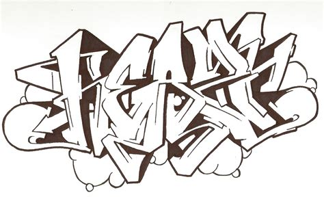 Grafiti Sketsa : Afro==============