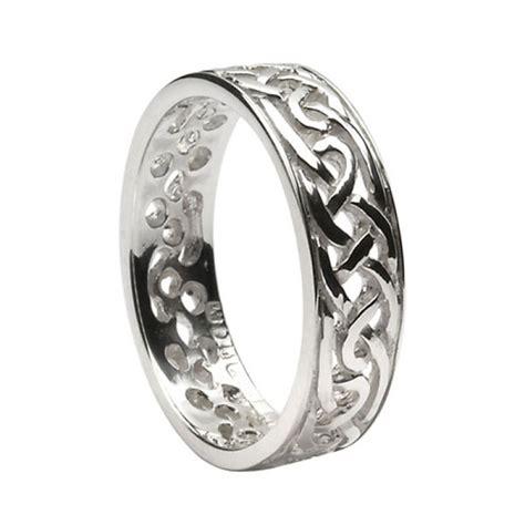 ladies celtic wedding rings ls wed93