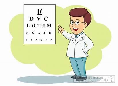 Eye Doctor Exam Chart Medical Clipart Clip