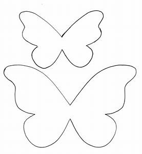 butterfly paper cut out template - butterfly printable pattern