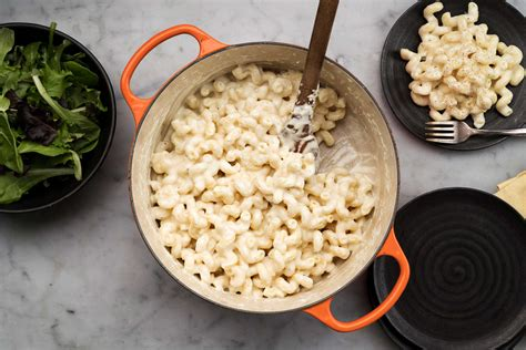creamy weeknight macaroni  cheese recipe nyt cooking