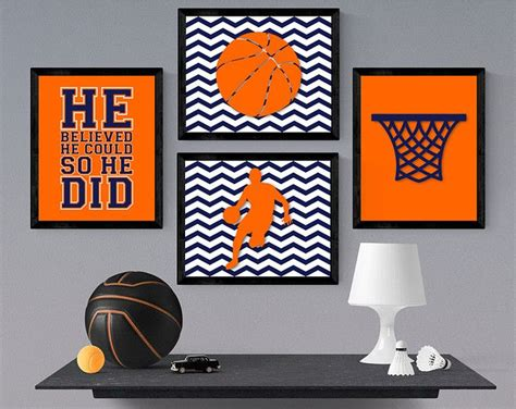 The thematic arrangement of children's rooms it is a great solution for the children and the parents. Basketball Pallet Sign - Basketball Bedroom Decor - Basketball Wall Art - Basketball Nursery ...