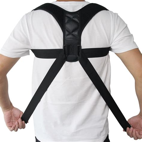 Adjustable Back Posture Corrector Clavicle Spine Back ...