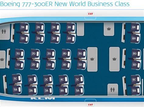 boeing 777 300er sieges klm poursuit le rétrofit de ses appareils the