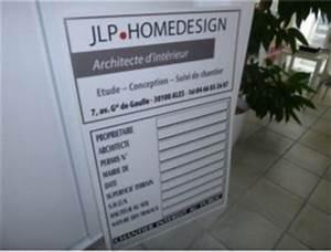 Panneau Déclaration Préalable : jlp homedesign affichage panneau de chantier ~ Dode.kayakingforconservation.com Idées de Décoration