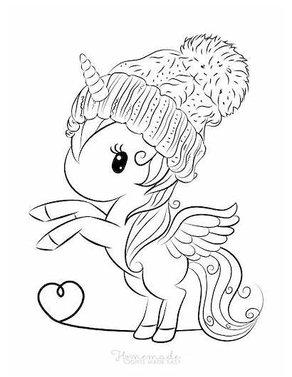 Unicorn Coloring Easy Adults Printables Magical Homemade