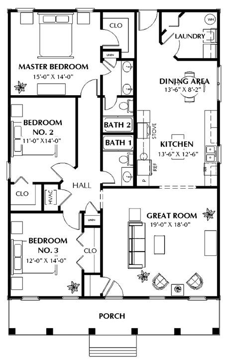 three home plans three bedroom house plans photos and